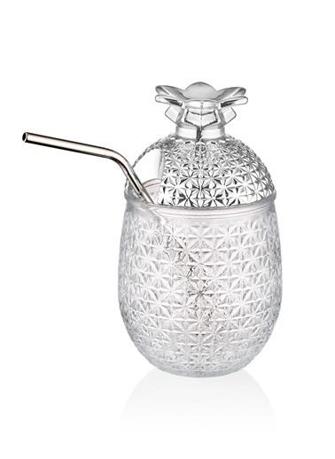The Mia Cam Ananas Kupa - 0,50 Litre Gümüş